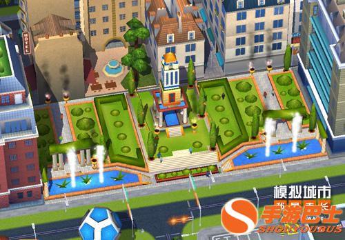 模拟城市:我是市长手游皇宫花园建筑正式登场!