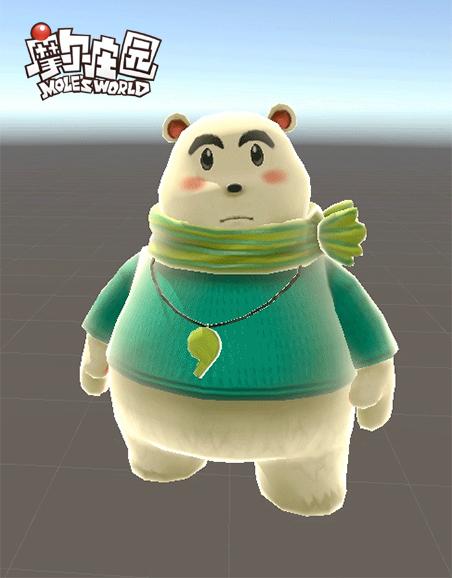 摩尔庄园手游12月冰雪节第一弹 白熊游戏屋公开